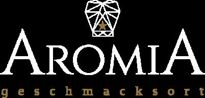 aromia logo gold